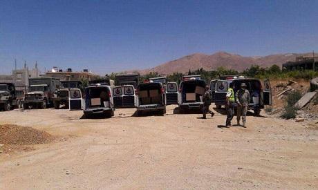 Hezbollah ambulances