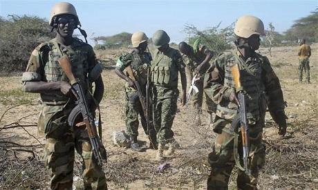 AU soldiers