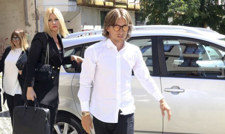 ae8856827 Real Madrid midfielder Luka Modric arrives to the courthouse in Osijek