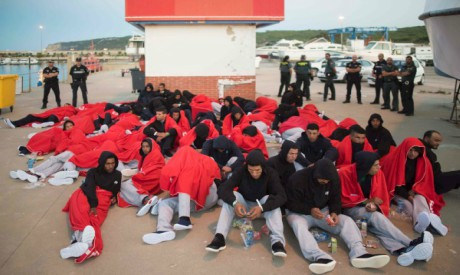 Moroccan migrants