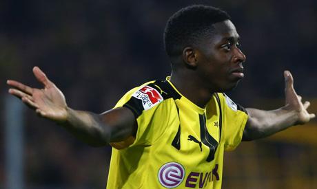 Ousmane Dembele of Dortmund  (Reuters)