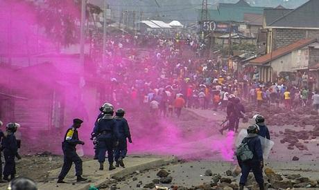DRC police