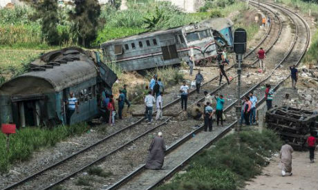 Egypt train collision kills at least 21