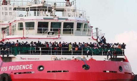 Italian rescue ship