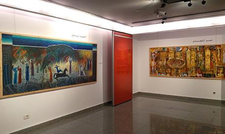 ahram murals