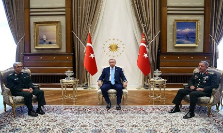 Erdogan to mull Syrian crisis with Iran General Staff's chief