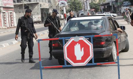 Hamas security