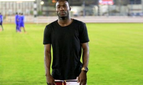 Zamalek new player Razak (Photo: http://el-zamalek.com)