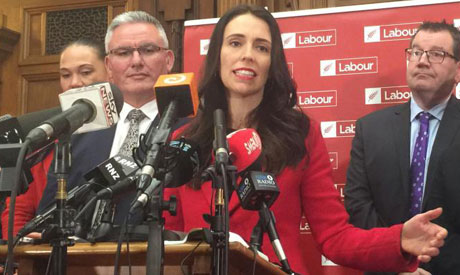 New Zealand opposition leader launches campaign for