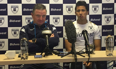 Egyptian striker Amr Gamal has joined us on a 1 year loan from Al Ahly (Photo: facebook.com/bidvestw