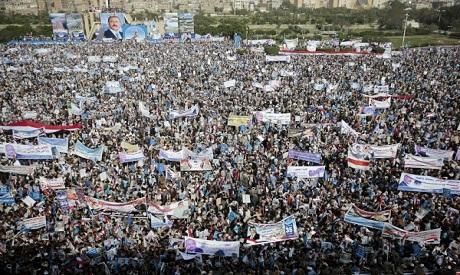 Ali Saleh supporters