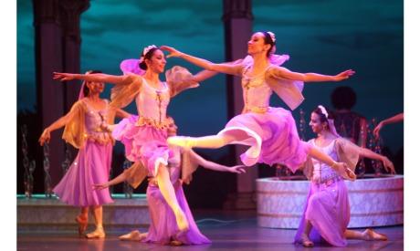 Le Corsaire ballet in Cairo