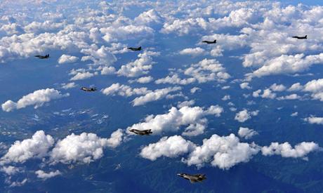 U.S. Marine Corps F-35B fighter jets