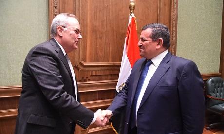 Heikal and US ambassador