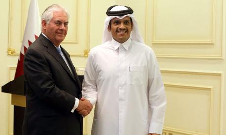 Tillerson , Qatari FM