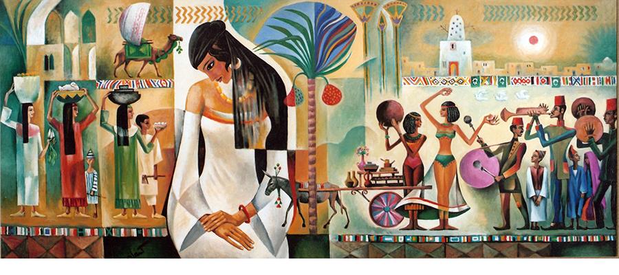 ahram mural
