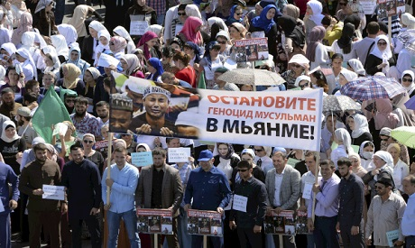 Protest in Chechnya