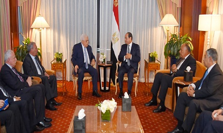 Sisi and Abu Mazen