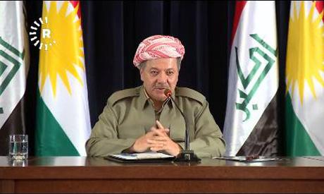 Kurdish Leader Barzani