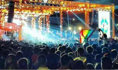 Egypt arrests 7 after raising gay pride flag at a concert