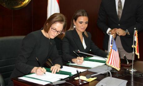 Sahar Nasr and USAID