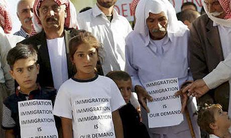 Yazidi students