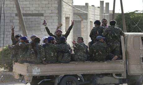 Syria March To Deir el Zour