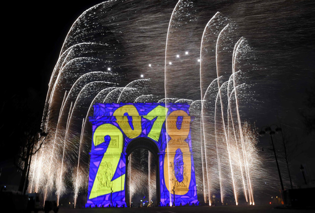 PHOTO GALLERY: Wishes for a happy 2018 on New Year
