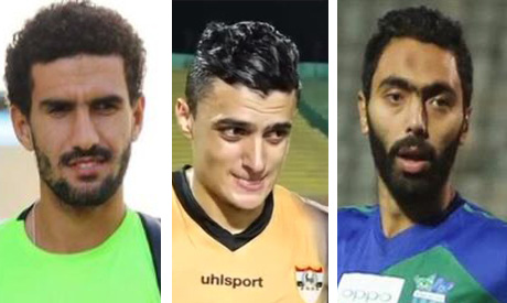 Mohamed Awad, Omar El-Said and Hussien El-Shahat