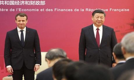 Macron & Jinping