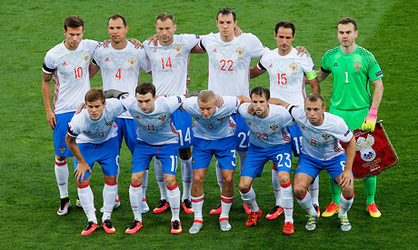 russia national soccer team (Reuters)