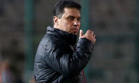 Ahly coach Hossam El-Badry (Reuters)