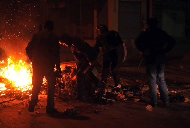 PHOTO GALLERY: Tunisia demonstrations against austerity measures turn violent