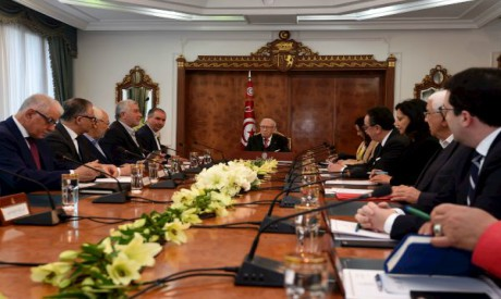 Essebsi meeting