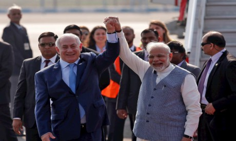 Netanyahu, Modi