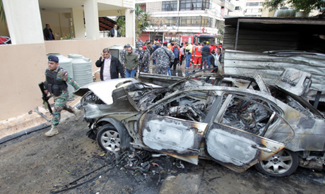 Car Bomb blast wounds Hamas official in Lebanon