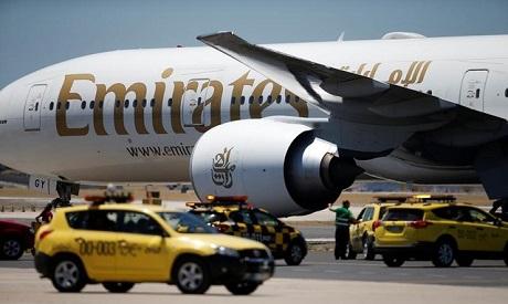 UAE plane