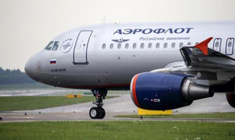 A view shows an Aeroflot Airbus A320 aircraft (Reuters)