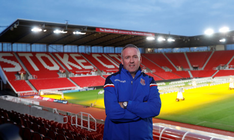 Paul Lambert attracted to Stoke City's