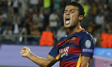Barcelona loan Brazilian Rafinha to Inter Milan