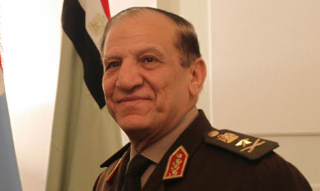 Egyptian army detains ex-military chief over presidential bid