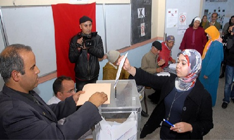 Polling Station in Egypt