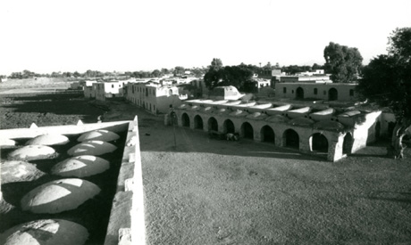 Auc shares hassan fathy archives to help restore new gourna village