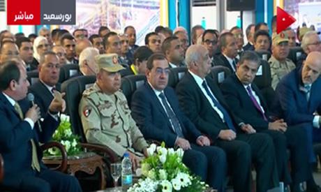 Sisi inaugurating Zohr