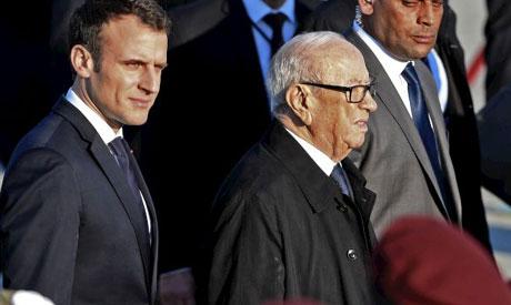 Macron, Essebsi