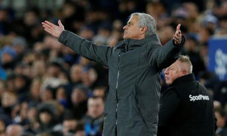 Manchester United manager Jose Mourinho (Reuters)