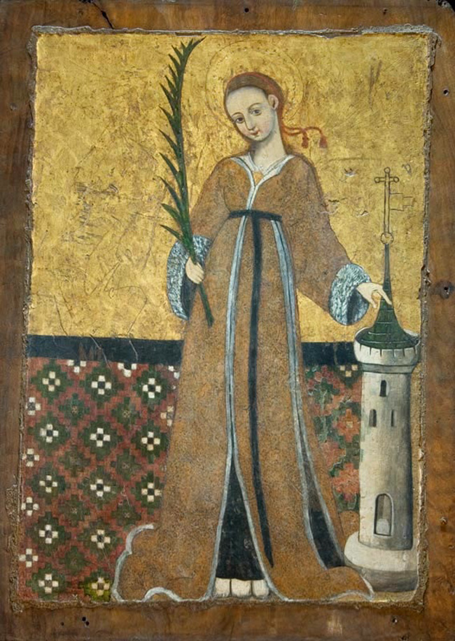 Icon of St Barbra