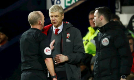 Wenger Gets Three-Match Touchline Ban, Fined £40000 For Criticising Referee Decisions