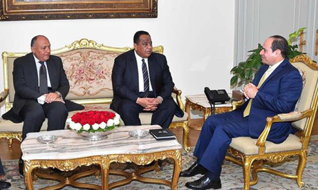 Egyptian and Sudanese foreign ministers