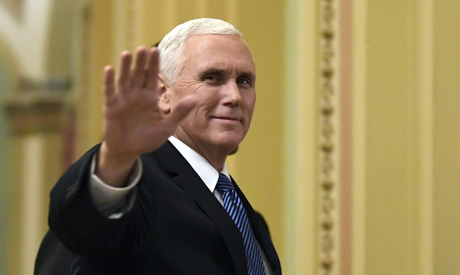 US Vice President Mike Pence (AP)